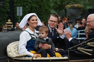 스웨덴 왕실, 그 아비에 그 자식들