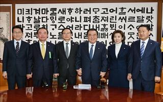 文의장 중재에도 2월 국회 무산…정상화 '안갯속'