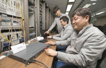 KT, 기존 랜선 기반 10기가 인터넷 기술 상용화