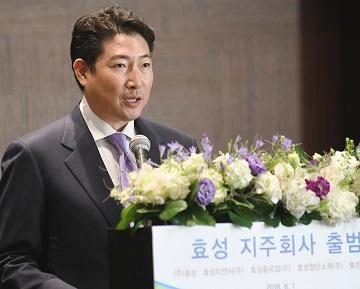 [CEO가 뛴다-19]  '백년기업 효성' 꿈꾸는 조현준 회장