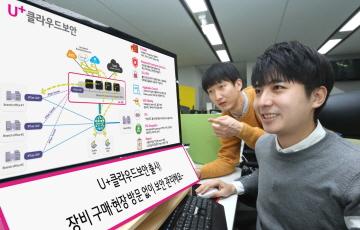 LG유플러스, 'U+클라우드 보안' 서비스 출시