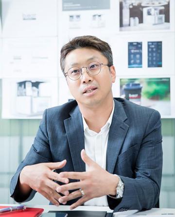"""[D-피플라운지] 지성원 달콤커피 대표 """"4차 산업 시대, 커피도 하나의 플랫폼"""""""