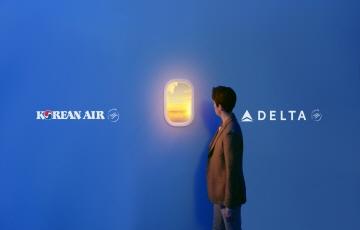 대한항공, 델타항공 조인트벤처 1주년 기념 광고 시작