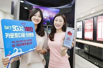 SKT, 5G 100만 가입자 코앞…고객 혜택 강화 나서