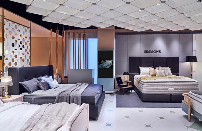 시몬스 침대, 신세계백화점 강남점 리뉴얼 오픈