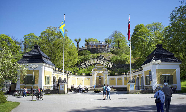 세계 최초의 야외민속 박물관 스칸센