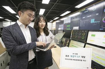 KT-안랩, 신·변종 해킹 대응 '통합TI 1.0' 개발·적용 완료