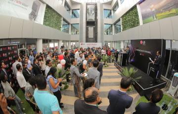 LG전자, 이집트 뉴카이로에 브랜드숍 오픈...AI 전파