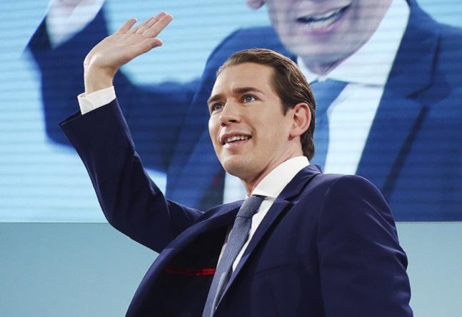 오스트리아 총선서 우파 국민당 승리