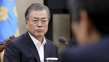 文대통령 지지율 42.0%…취임 후 최저치 또 갱신