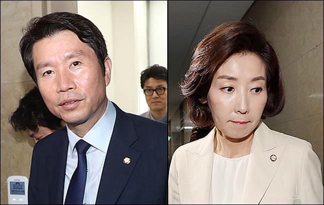 [데일리안 여론조사] '정당 지지율' 민주당 36.1% 한국당 30.8%