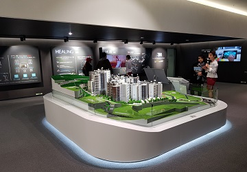 [분양탐방] '힐스테이트 홍은 포레스트' 견본주택…'묻지마 청약'에 오히려 한산