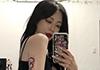 한예슬, 새 타투 공개 '도발적인 섹시미'