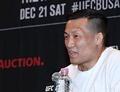 [UFC 부산] '허탈' 정찬성 vs 오르테가 매치 불발