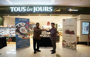CJ 인도네시아 뚜레쥬르, 현지 중소기업과 협업 제품 출시