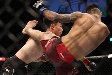 [UFC 부산] 최두호 3연패, 극복하지 못한 '닥공 한계'