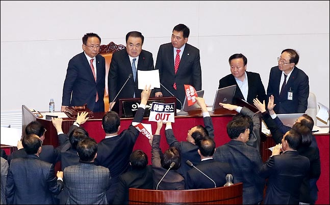 한국당 혁신공천은 '구국의 수단'이다