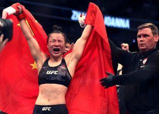 [UFC] 코로나19 도발? 중국 장웨일리, 명경기로 설욕