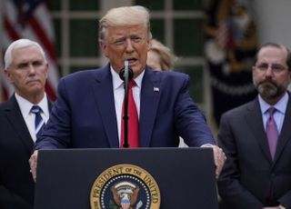 [코로나19] 트럼프, 국가비상사태 선포…주 정부에 500억달러 지원