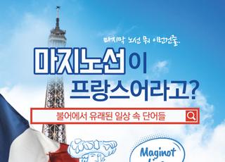 [카드뉴스] '마지노선'도? 불어에서 유래된 일상 속 단어들