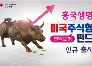 흥국생명, 변액보험 미국 주식형 펀드 신규 출시