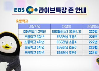 [코로나19] KT스카이라이프, 'EBS 라이브특강' 초중고 전 과정 송출