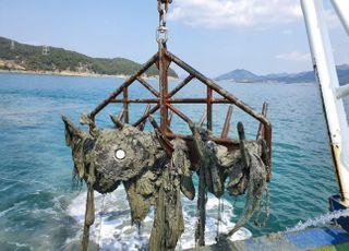 해양환경공단, 바닷속 침적쓰레기 756톤 수거 완료