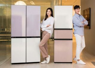 삼성전자, 더 새로워진 '비스포크' 냉장고 선봬