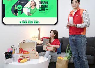 "SKT ""소상공인·사회적 기업 제품 구매 시 기부 포인트 적립"""