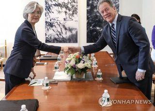 """강경화 외교부 장관 """"유엔세계식량계획 사무총장과 통화""""…'지원확대' 결정"""