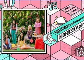 '음악중심' 에이핑크, 엠씨더맥스·폴킴 제치고 2주 연속 1위