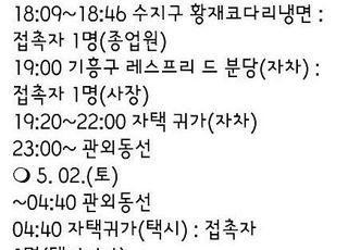용인 확진 남성, 하룻밤 사이 이태원 클럽 다섯 곳 방문