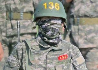 손흥민, 군대서 '흥민이 형∼'…훈련소 1등 수료