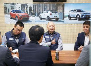 """쌍용차 노조위원장 """"경영정상화가 우선…상생협력에 최선"""""""