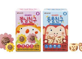 아이배냇, 어린이용 쿠키 '동물친구‧꽃님친구' 출시