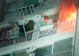 성남 분당 아파트서 불...주민 1명 부상