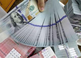 기업 달러예금 확대…거주자외화예금 석 달 만에 증가