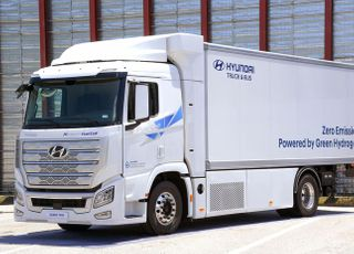 현대차, 내년 10t급 수소전기트럭 시범사업 투입…2023년 상용화