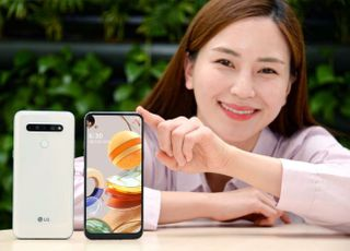 LG전자, 30만원대 LTE폰 'LG Q61' 출시…후면 쿼드카메라
