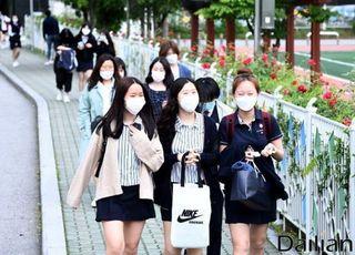 '등교 첫날 전원 귀가' 인천 66개 고교, 25일 등교 재개