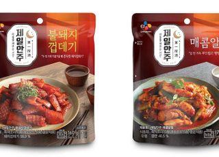 CJ제일제당, '제일안주' 브랜드 론칭…상온 안주 간편식 시장 개척