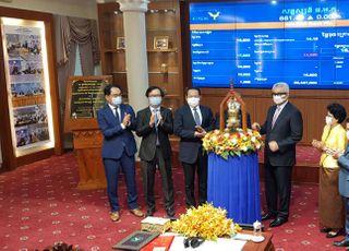 거래소, 캄보디아 지분투자 성과…현지 상업은행 증시 상장