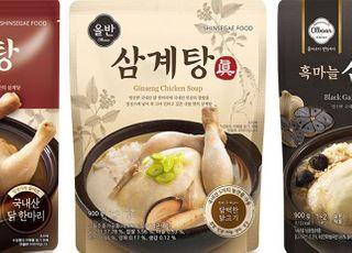 코로나19에 보양 간편식 인기…신세계푸드 '올반 삼계탕' 판매 420% ↑