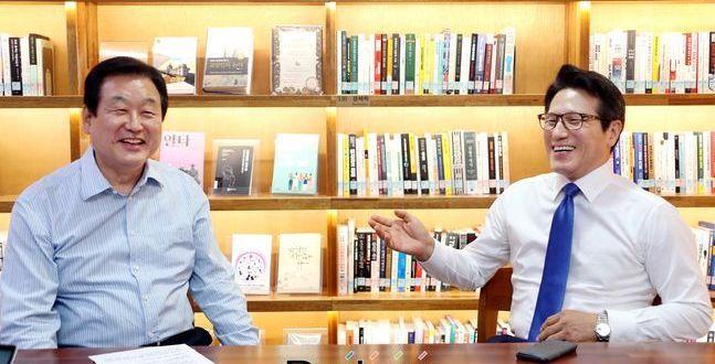"""[지금 왜 YS인가-상] 김무성·정병국 """"우파 뿌리, 3당 합당 이후부터 시작하자"""""""