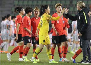 한국 여자축구, 도쿄행 길목서 중국과 내년 2월 PO