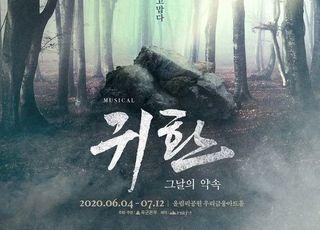 디오·시우민 출연 뮤지컬 '귀환', 코로나19 재확산에 개막 연기