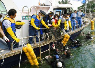 최정우 포스코 회장, 사내 봉사단·지역주민과 바다 생태환경 보전 활동