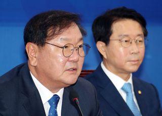 """김태년 """"비장한 각오로 법이 정한 날짜에 국회 열겠다"""""""