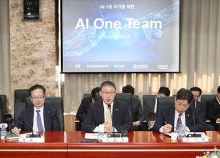 LG전자-KT-LGU+, 'AI 원팀'으로 뭉쳤다