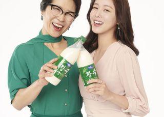 서울장수, 배우 황석정·경수진 '장수 생막걸리' 전속 모델 발탁